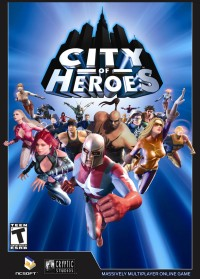 City of Heroes - Box Art