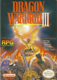 Dragon Warrior 3 - Box Art