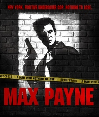 Box art for Max Payne.