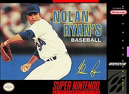 Nolan Ryan Baseball - Cover