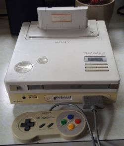 Holy crap, a Nintendo Playstation!