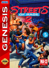 Streets of Rage 2 - Box Art
