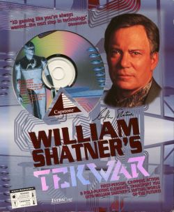 William Shatner's TekWar - Box Art