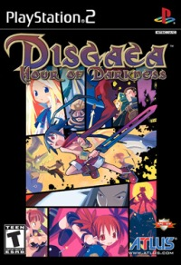 Disgaea - Box Art
