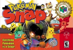 Pokemon Snap - Box Art