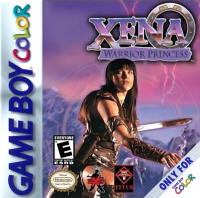 Xena Warrior Princess - Box Art