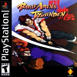 Battle Arena Toshinden - Box Art