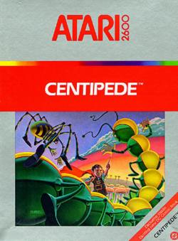 Centipede - Atari 2600 - Box Art