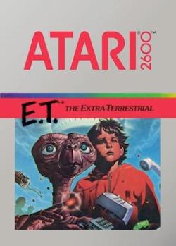 E.T. - Box Art