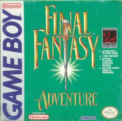 Final Fantasy Adventure - Box Art