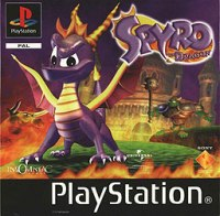 Spyro The Dragon - Box Art