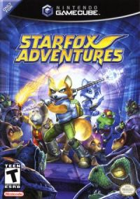 Star Fox Adventures - GC - Box Art