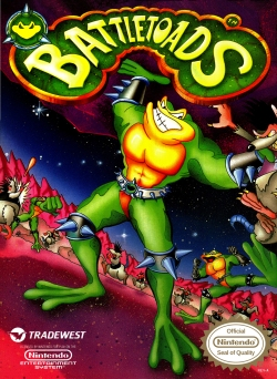 Battletoads - Box Art