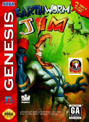 Earthworm Jim - Box Art