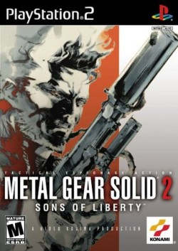 Metal Gear Solid 2 - Box Art - 01