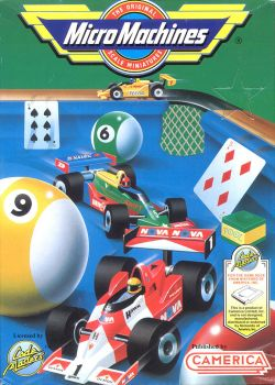 Micro Machines - Box Art - 01