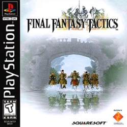 Final Fantasy Tactics - Box Art