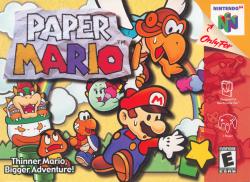 Paper Mario - Box Art - 01