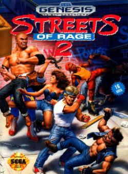 Streets of Rage 2 - Genesis
