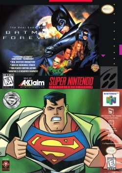 Episode 047 – Batman Forever (1995) and Superman 64 (1999)
