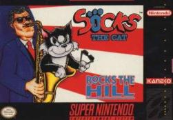 Socks The Cat Rocks the Hill - SNES - 01