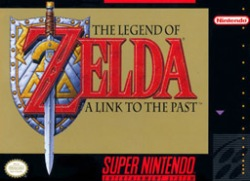 A Link to the Past - SNES - Box Art