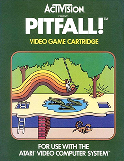 Pitfall - Atari 2600 - Box Art