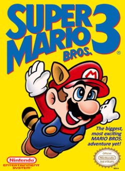Super Mario Bros. 3 - NES - Box Art