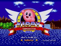 Kirby as Sonic - 01