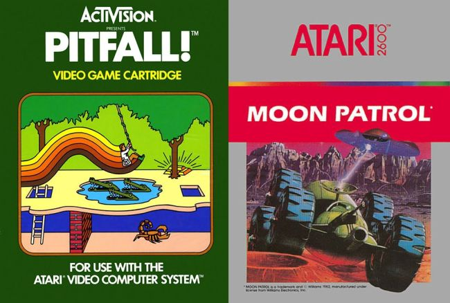 Episode 056 – Pitfall! and Moon Patrol (1982)