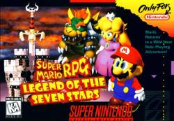 Super Maro RPG - Box Art - SNES