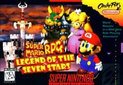 Super Maro RPG - Box Art - SNES