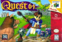 Quest 64 - N64 - Box Art
