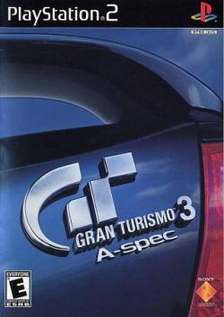 Gran Turismo 3 - PS2 - Box Art