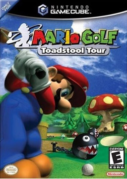 Mario Golf - Toadstool Tour - GCN - Box Art