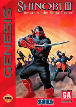Shinobi III - Genesis - Box Art