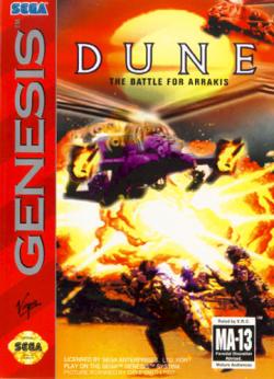 Dune - Genesis - Box Art