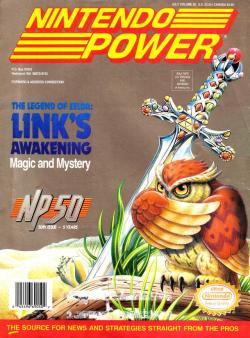 Nintendo Power - Issue 50 - Link's Awakening