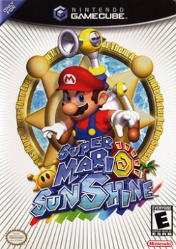 Super Mario Sunshine - GC - Box Art