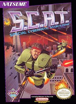 Episode 136 – S.C.A.T.: Special Cybernetic Attack Team (1991)