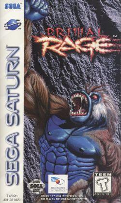 Primal Rage - Sega Saturn - 01