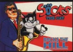Episode 184 – Socks the Cat Rocks the Hill (1994 + 2018)