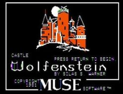 Episode 205 – Castle Wolfenstein (1981) and Beyond Castle Wolfenstein (1984)